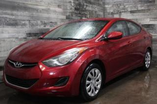 Used 2013 Hyundai Elantra AUTOMATIQUE, SIÈGE CHAUFFANT, BLEUTOOTH, AIR CLIMA for sale in St-Sulpice, QC