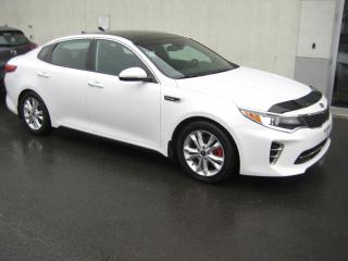 Used 2016 Kia Optima SXL Turbo berline 4 portes avec noir for sale in Montréal, QC