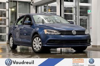 Used 2016 Volkswagen Jetta 1.4 TSI Trendline * CAM RECUL * APP-CONN for sale in Vaudreuil-Dorion, QC