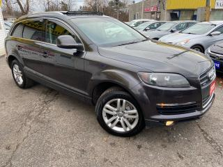 Used 2009 Audi Q7 7 SEATER/ PANORAMIC SUNROOF/ LEATHER/ ALLOYS! for sale in Scarborough, ON
