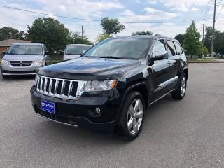 Used 2013 Jeep Grand Cherokee Overland for sale in Windsor, ON
