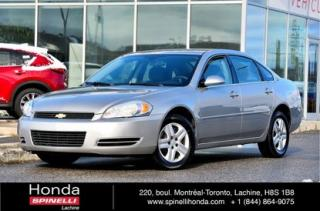 Used 2007 Chevrolet Impala LS AUTO BAS KM AUTO AC CRUISE BAS KM for sale in Lachine, QC