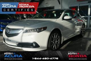 Used 2016 Acura TLX ELITE - V6 - SH-AWD for sale in Alma, QC