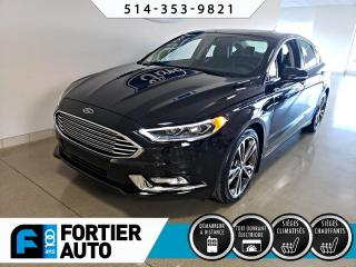 Used 2017 Ford Fusion Berline 4 portes Titane traction intégra for sale in Montréal, QC
