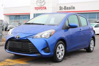 Used 2019 Toyota Yaris Hatchback LE SIEGES CHAUFFANTS CAMÉRA DE RECUL BLUETOOT for sale in St-Basile-le-Grand, QC