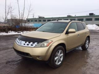 Used 2004 Nissan Murano Nissan Murano 2004 3.5 for sale in Quebec, QC