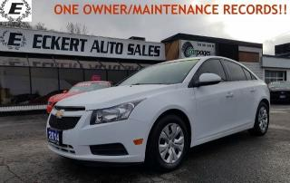 Used 2014 Chevrolet Cruze 1LT  ONE OWNER/MAINTENANCE RECORDS!! for sale in Barrie, ON
