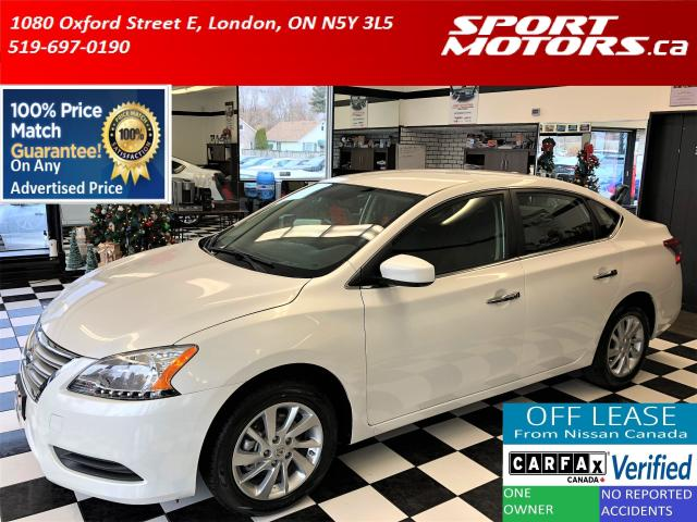 2015 Nissan Sentra SV+Camera+Bluetooth+Heated Seats+New Tires+Brakes