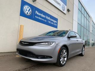 Used 2015 Chrysler 200 S AWD AUTO LOADED! for sale in Edmonton, AB