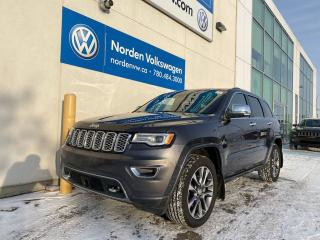 Used 2018 Jeep Grand Cherokee OVERLAND 4X4 3.6L V6 - EVERY OPTION for sale in Edmonton, AB