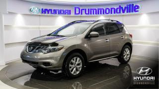 Used 2012 Nissan Murano SL AWD + GARANTIE + TOIT + WOW !! for sale in Drummondville, QC