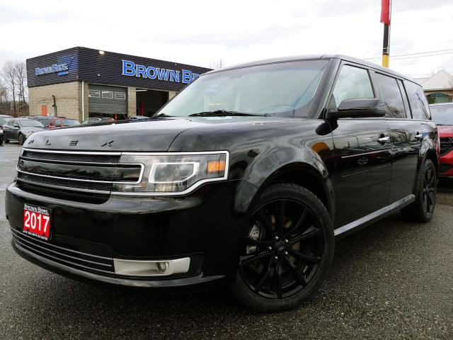 2017 Ford Flex LIMITED , LOCAL, NO ACCIDENTS, LOADED!