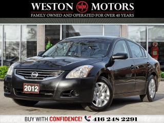 Used 2012 Nissan Altima 2.5L*S*AUX*UNBELIEVABLE SHAPE*CERTIFIED!!* for sale in Toronto, ON
