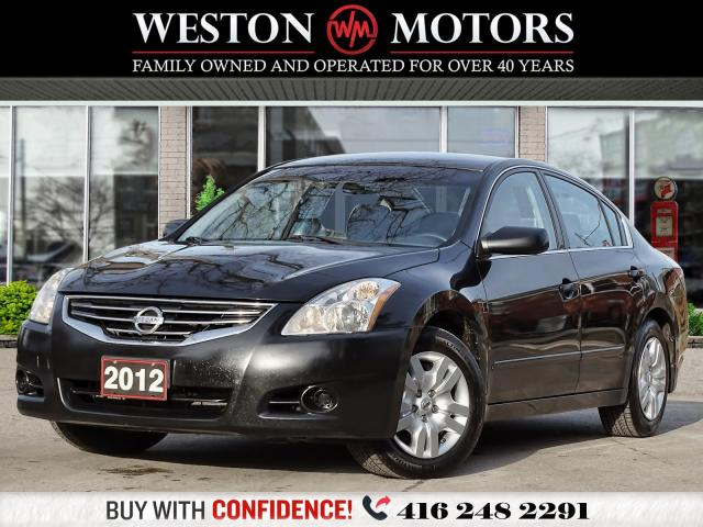 2012 Nissan Altima 2.5L*S*AUX*UNBELIEVABLE SHAPE*CERTIFIED!!