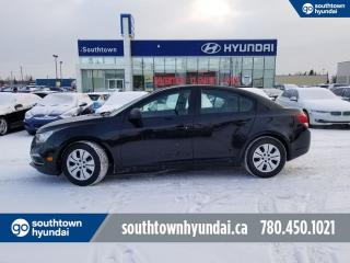Used 2015 Chevrolet Cruze 2LS/BLUETOOTH/HEATED SEATS/POWER OPTIONS for sale in Edmonton, AB