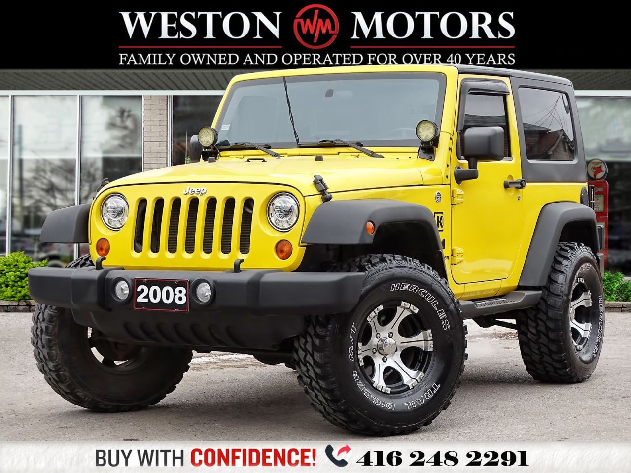 2008 Jeep Wrangler X*6SPEED*4X4*V6*PICTURES COMING SOON!!*