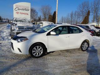 Used 2015 Toyota Corolla LE CVT for sale in St-Félicien, QC