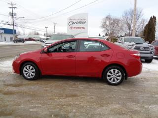 Used 2015 Toyota Corolla Berline 4 portes, boîte CVT LE for sale in St-Félicien, QC