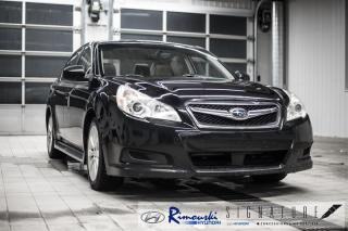 Used 2011 Subaru Legacy Limited 2.5l chez Rimouski Hyundai for sale in Rimouski, QC