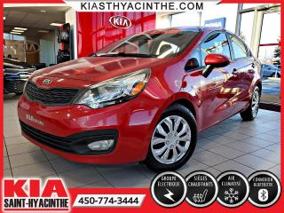 Used 2013 Kia Rio ** EN ATTENTE D'APPROBATION ** for sale in St-Hyacinthe, QC
