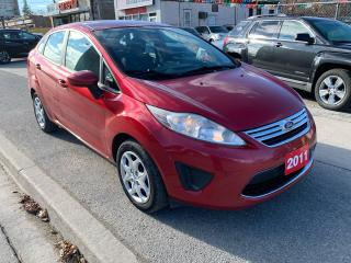 Used 2011 Ford Fiesta EXTRA CLEAN-AUX-USB-BLUETOOTH-MUST SEE! for sale in Scarborough, ON