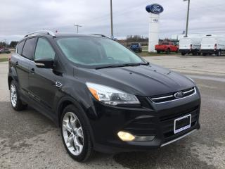 Used 2014 Ford Escape Titanium | BLIS | Panoramic Roof for sale in Harriston, ON