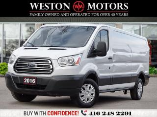 Used 2016 Ford Transit 250 EXTENDED*LOW ROOF*REV CAM*SHELVING!!*WOW LOW KMS!* for sale in Toronto, ON
