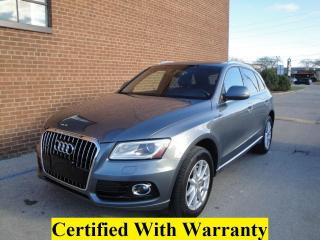 Used 2013 Audi Q5 3.0T quattro AWD, NAVI, PANO ROOF for sale in Oakville, ON