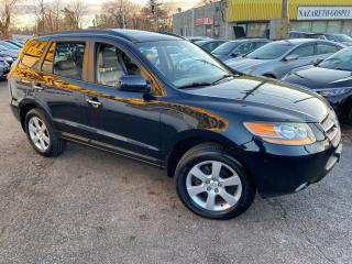 Used 2008 Hyundai Santa Fe LIMITED/ AWD/ 7 SEATER/ LEATHER/ SUNROOF/ ALLOYS! for sale in Scarborough, ON