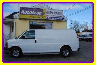 Used 2018 GMC Savana 2500 3/4 Ton Cargo Van, Loaded for sale in Woodbridge, ON