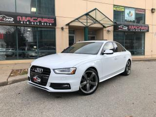 Used 2013 Audi S4 **NAVI**RED INT**BACKUP CAM**BLIND SPOT** for sale in North York, ON