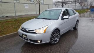 Used 2009 Ford Focus Auto, Only 91000 km, 4 door, 3/Y warranty avail for sale in Toronto, ON