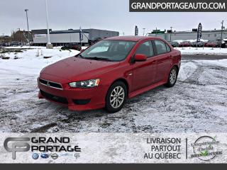 Used 2011 Mitsubishi Lancer Berline 4 portes, AUTOMATIQUE SE for sale in Rivière-Du-Loup, QC
