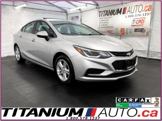Used 2016 Chevrolet Cruze LT+Sunroof+Camera+Heated Seats+Remote Start+Apple+ for sale in London, ON