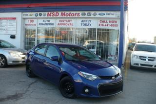 Used 2015 Toyota Corolla S  ACCIDENT FREE for sale in Toronto, ON
