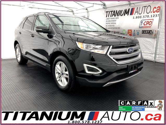 2016 Ford Edge SEL+AWD+V6+GPS+Blind Spot+Pano Roof+Leather+Camera