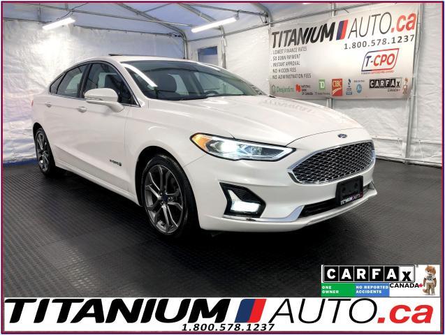 2019 Ford Fusion Hybrid Titanium+GPS+Blind Spot+Lane Assist+Cooled Leather