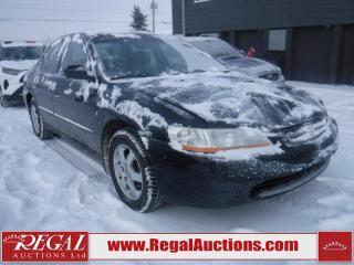 2000 Honda Accord 4D Sedan