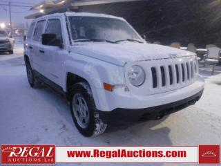 Used 2015 Jeep Patriot 4D Utility 2WD for sale in Calgary, AB