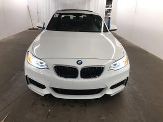Used 2016 BMW 2-Series 228XI *BACK UP CAMERA*HEATED SEATS - DRIVER AND PASSENGER-LEATHERETTE*NAVI*POWER MOONROOF* for sale in London, ON