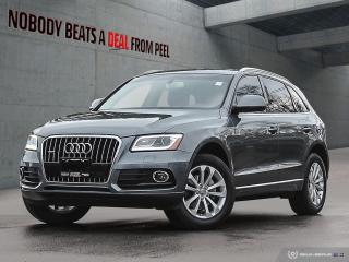 Used 2016 Audi Q5 V Design Wheels*Cam*Pwr Tailgate* for sale in Mississauga, ON
