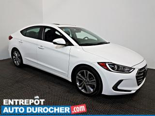 Used 2018 Hyundai Elantra GLS Automatique TOIT OUVRANT - A/C - CUIR - for sale in Laval, QC