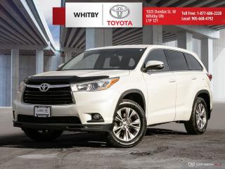 Used 2014 Toyota HIGHLANDER LE FWD LE for sale in Whitby, ON