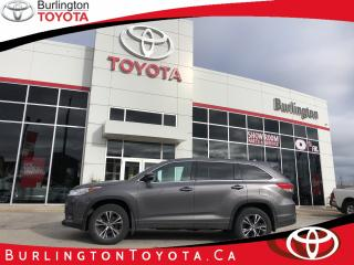 Used 2017 Toyota Highlander LE for sale in Burlington, ON