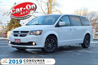 Used 2019 Dodge Grand Caravan GT LEATHER REAR CAM PWR DOORS HTD SEATS LOADED for sale in Ottawa, ON