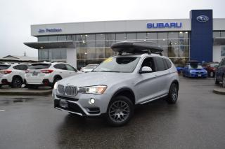 Used 2016 BMW X3 xDrive28d - 86000KM. TURBO DIESEL. for sale in Port Coquitlam, BC
