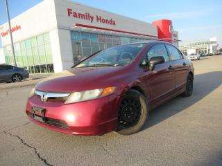 Used 2007 Honda Civic 4dr AT LX | Gas Saver! | for sale in Brampton, ON