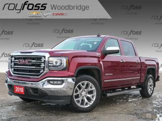 Used 2018 GMC Sierra 1500 SLT NAV, BOSE, SUNROOF for sale in Woodbridge, ON