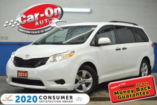 Used 2014 Toyota Sienna 7 Passenger TRI-ZONE CLIMATE CRUISE ALLOYS for sale in Ottawa, ON