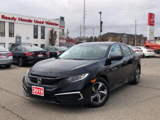 Used 2019 Honda Civic Sedan LX - Rear Camera - Honda Sensing - Bluetooth for sale in Mississauga, ON